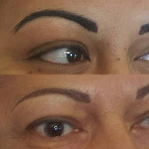 Brows Before and After 1